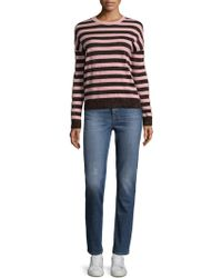 Rag & Bone - June Tinsel Stripe Wool Sweater - Lyst