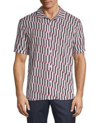 ELEVEN PARIS - Printed Short Sleeve Shirt - Lyst