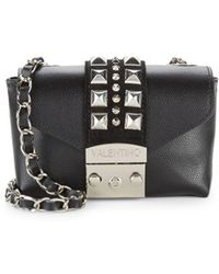 Valentino By Mario Valentino - Paulte Leather Convertible Clutch - Lyst