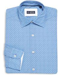 Breuer - Printed Regular-fit Dress Shirt - Lyst