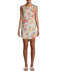 Beach Lunch Lounge - Graphic Hi-lo Dress - Lyst