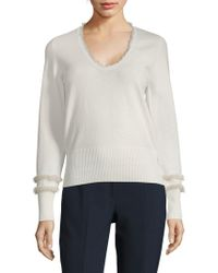 Agnona - Long-sleeve Sweatshirt - Lyst
