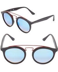 Ray-Ban - 49mm Gradient Gatsby Sunglasses - Lyst