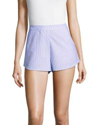 State Of Being - Wishing Cotton Shorts - Lyst