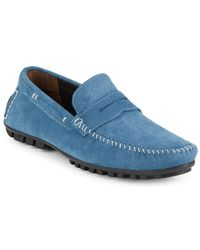 Bacco Bucci - Leather Penny Loafers - Lyst