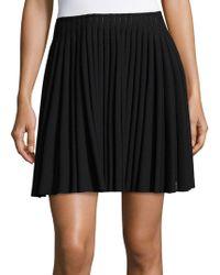 Alaïa - Pleated Skirt - Lyst