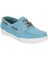 Eastland - Textured Leather Boat Shoes - Lyst