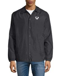 True Religion - Lightweight Sport Jacket - Lyst