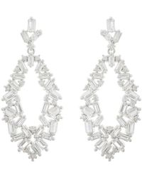 Saks Fifth Avenue - Jankuo Jewelry Crystal Drop Earrings - Lyst