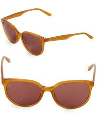 Smoke X Mirrors - Vincent 54mm Oval Sunglasses - Lyst