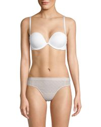 Felina - Bra Of The Year Convertible Strapless Deep Plunge Bra - Lyst