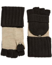 Calvin Klein - Fliptop Fingerless Gloves - Lyst