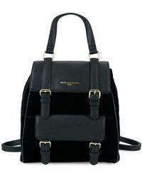 Karl Lagerfeld - Versatile Leather Backpack - Lyst