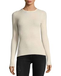 NAKEDCASHMERE - Cashmere Fitted Crewneck Sweater - Lyst
