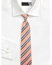 Kiton - Striped Silk Tie - Lyst