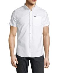 Superdry - Ultimate Short Sleeve Oxford Shirt - Lyst