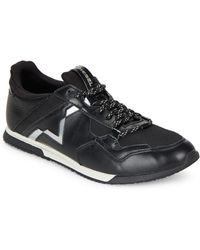 DIESEL - Furyy Mixed Media Lo-top Trainers - Lyst