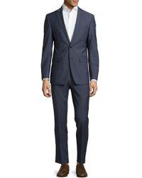 CALVIN KLEIN 205W39NYC - Slim Fit Textured Wool Suit - Lyst