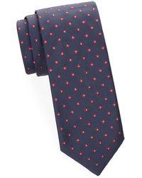 Brioni - Fine Rib Silk Tie - Lyst