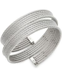 Alor - Classique Stainless Steel Wrap Bracelet - Lyst