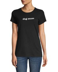 Threads For Thought - Dog Mom Organic Cotton Tee - Lyst