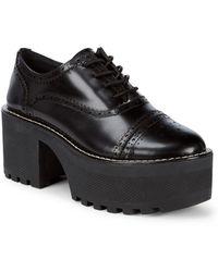 Alice + Olivia - Platform Oxford Shoes - Lyst
