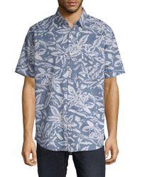 Van Heusen - Zelchior Cotton Button-down Shirt - Lyst