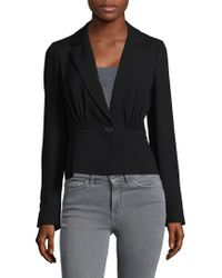 Derek Lam - Pleated Short Jacket - Lyst