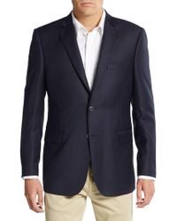 Saks Fifth Avenue - Regular-fit Wool Blazer - Lyst
