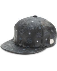 a0b283da67e Lyst - Mcm Visetos Buckle Hat in Black for Men