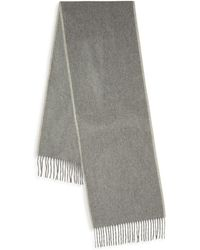Saks Fifth Avenue - Fringed Cashmere Scarf - Lyst