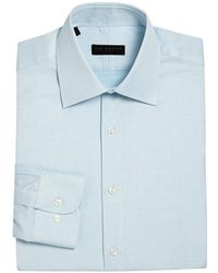 Ike By Ike Behar - Regular-fit Dotted Dress Shirt - Lyst