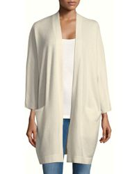 NAKEDCASHMERE - Open Front Cashmere Cardigan - Lyst