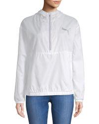 PUMA - Spark Quarter-zip Jacket - Lyst