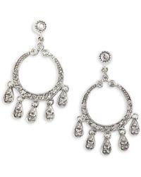 Effy - 14k White Gold & 0.45 Tcw Diamond Chandelier Drop Earrings - Lyst