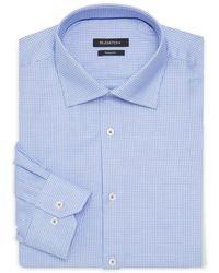 Bugatchi - Shaped-fit Printed Dress Shirt - Lyst