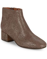 Gentle Souls - Laina Sparkle Suede Booties - Lyst