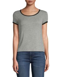 Project Social T - Ringer Roundneck Tee - Lyst