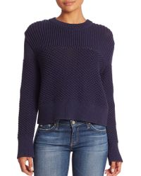 Public School - Bond Knit Crewneck Jumper - Lyst