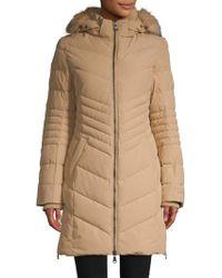 Pajar - Fox Fur-trimmed Down-filled Coat - Lyst