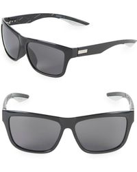 PUMA - 63mm Square Sunglasses - Lyst