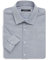 Saks Fifth Avenue Black - Birds-eye Dress Shirt - Lyst