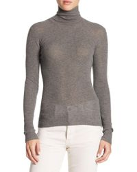 Vince - Skinny Cashmere Sweater - Lyst