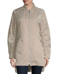 French Connection - Hi-lo Bomber Jacket - Lyst