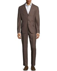 Brunello Cucinelli - Plaid Suit - Lyst