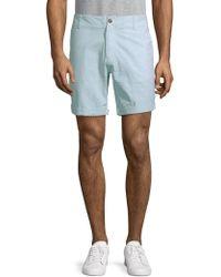 Slate & Stone - Striped Cotton Shorts - Lyst