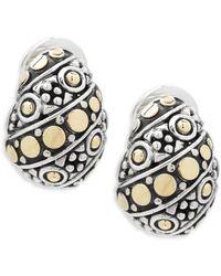 John Hardy - Jaisalmer Buddha Belly Earrings - Lyst