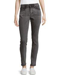NYDJ - Alina Washed Denim Jeans - Lyst