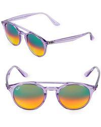 Ray-Ban - 51mm Phantos Sunglasses - Lyst