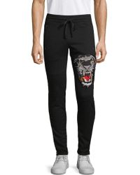 Robin's Jean - Embroidered Jogger Trousers - Lyst